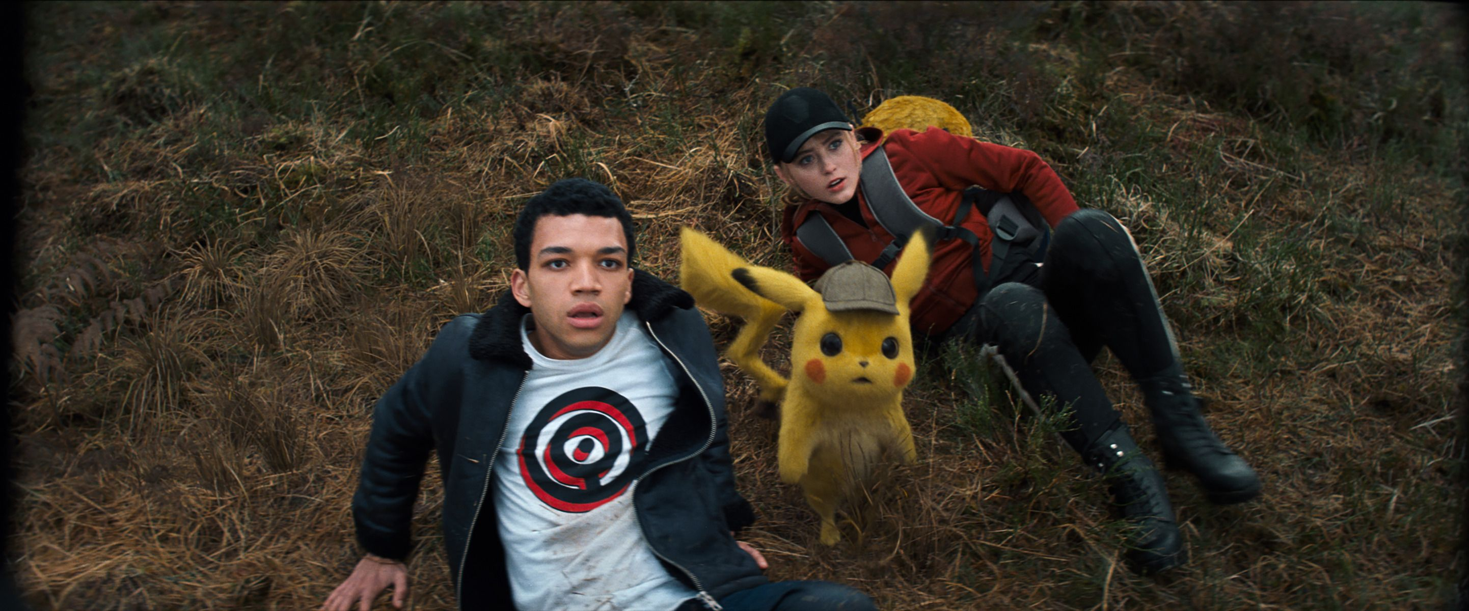 Image result for pokemon detective pikachu cast