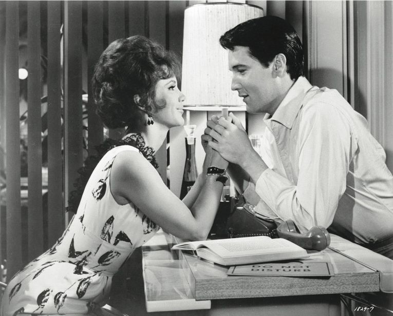 Elvis Presley and Mary Ann Mobley in Girl Happy