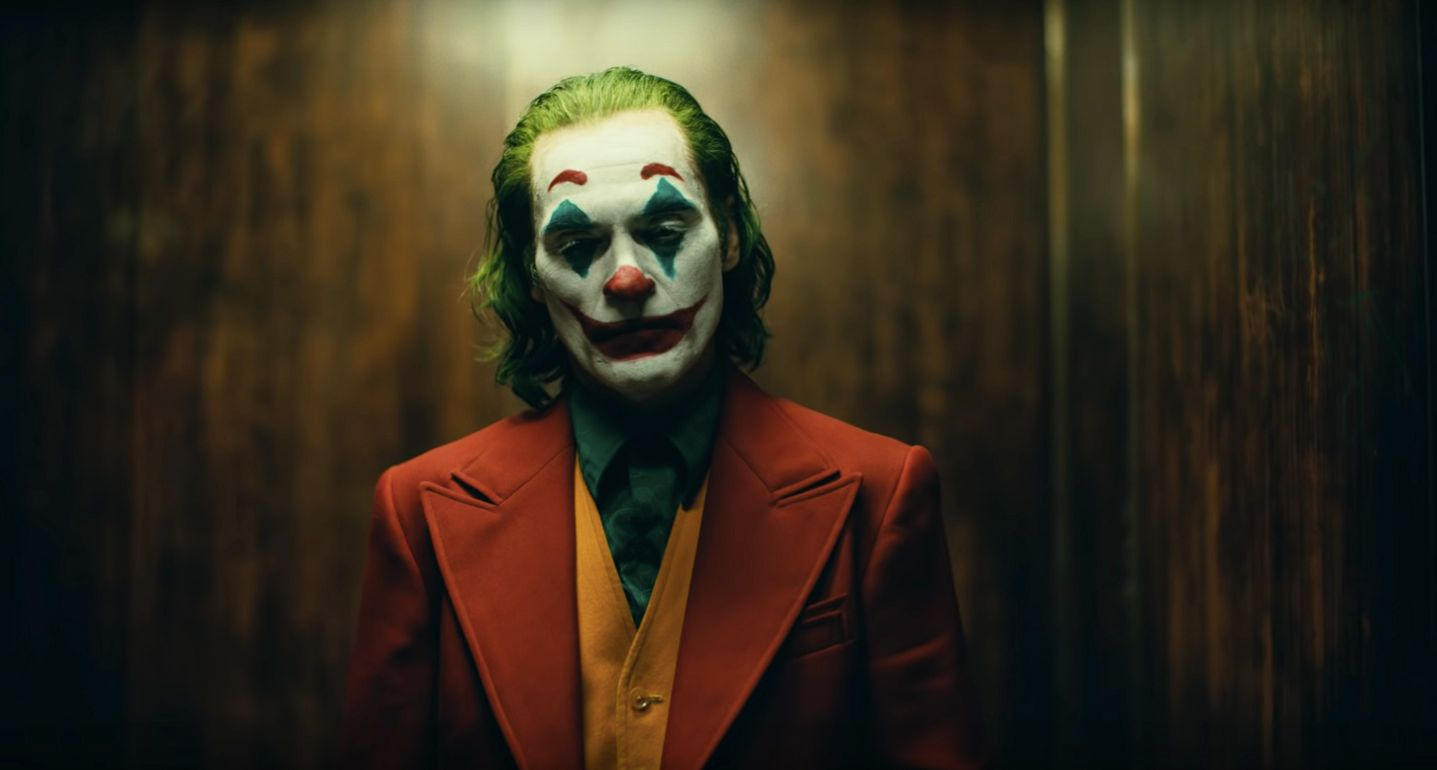 Joker in the Joker Trailer