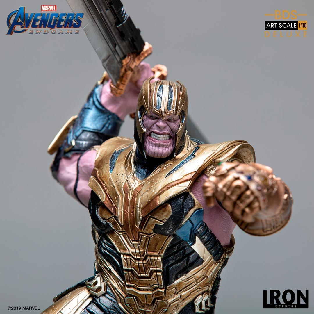 Thanos Figure from Avengers: Endgame Close Up