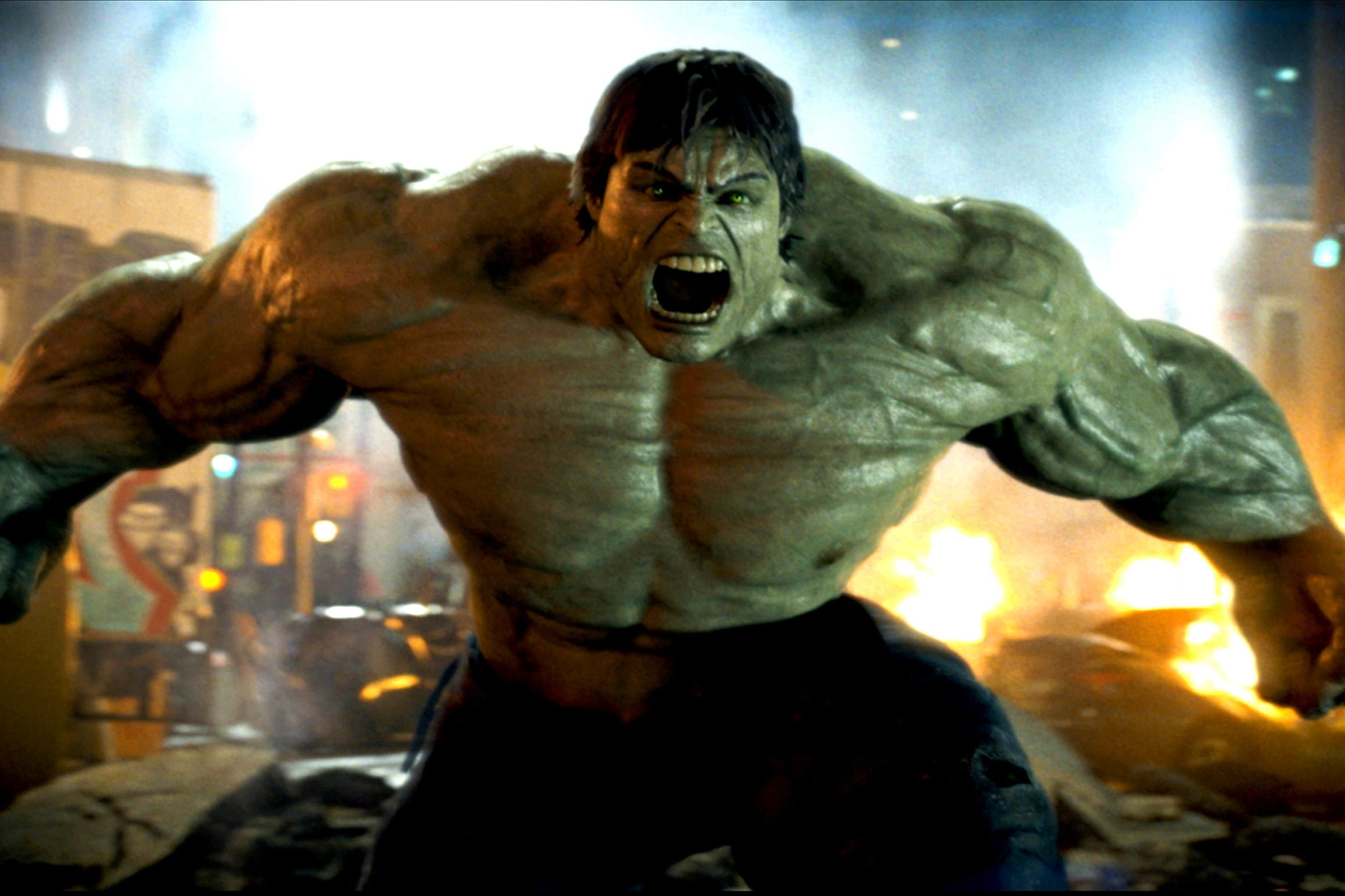 This is a graphic of Effortless A Picture of the Hulk