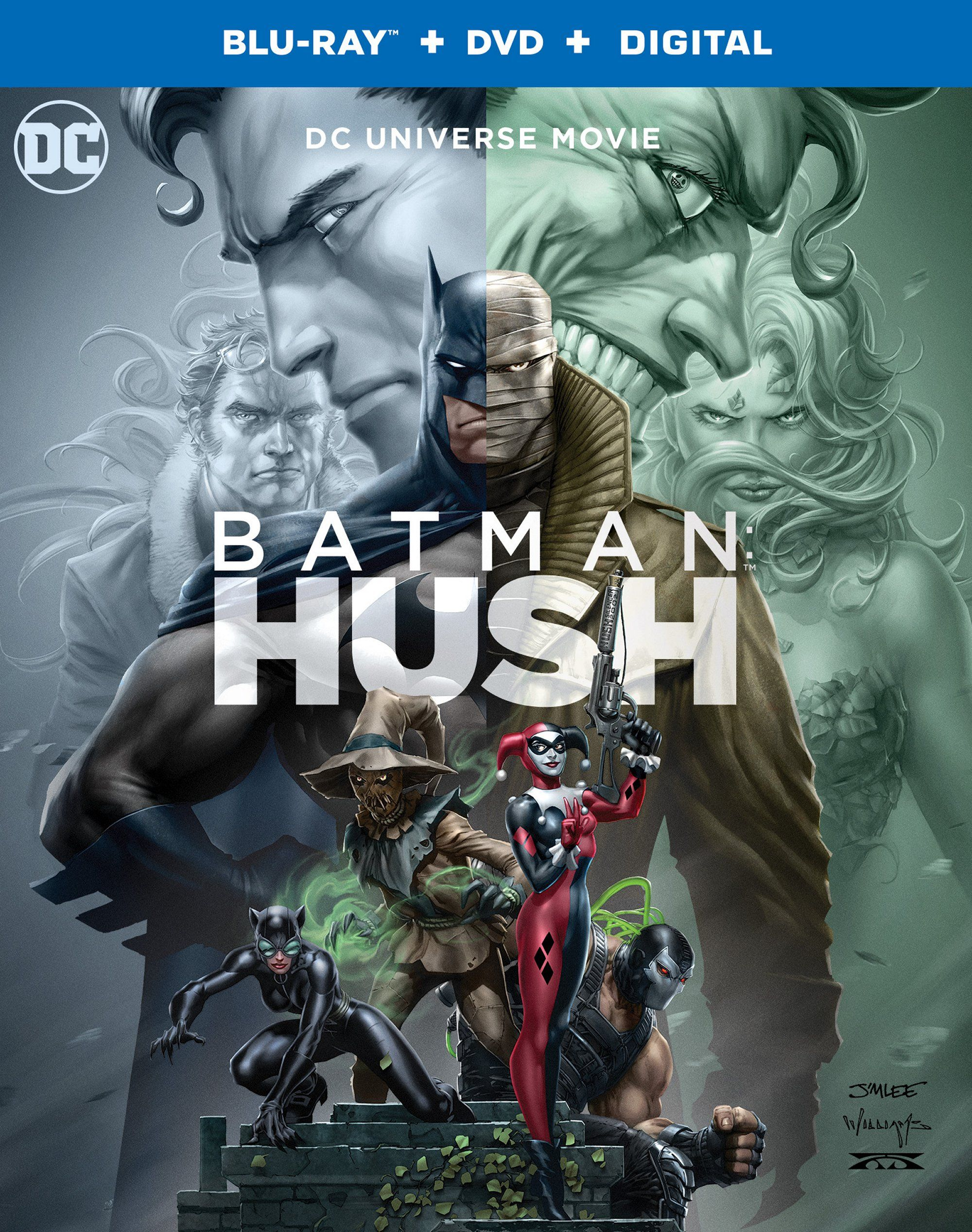Batman: Hush Digital, 4K, Blu-ray, DVD Review and Bonus