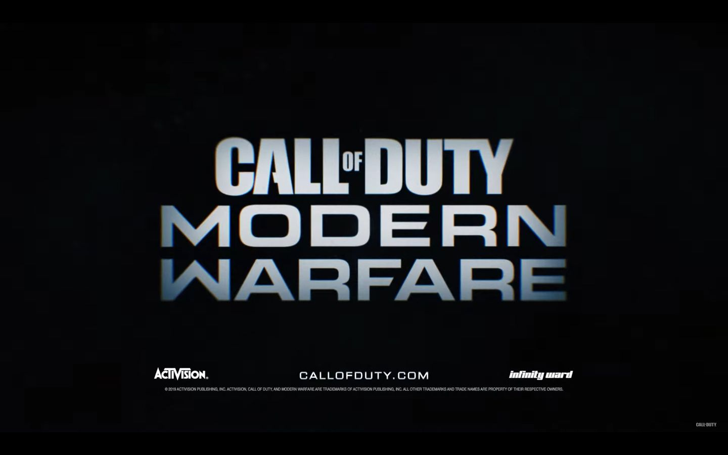 New Call Of Duty Modern Warfare Trailer And Details Revealed