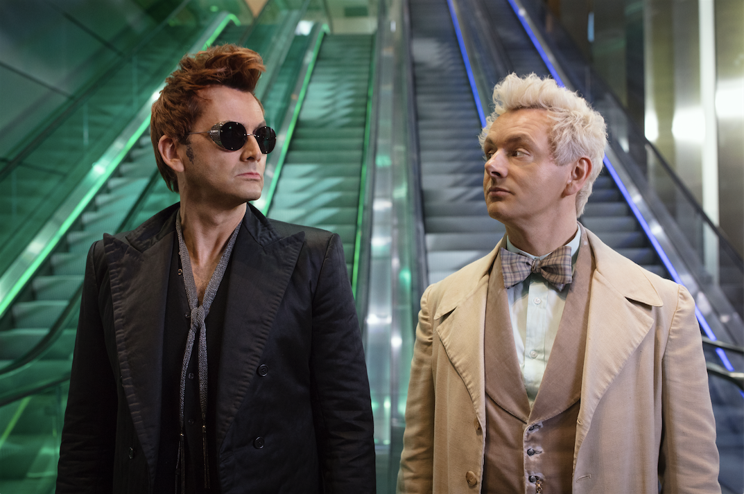good omens review  david tennant  u0026 michael sheen end the