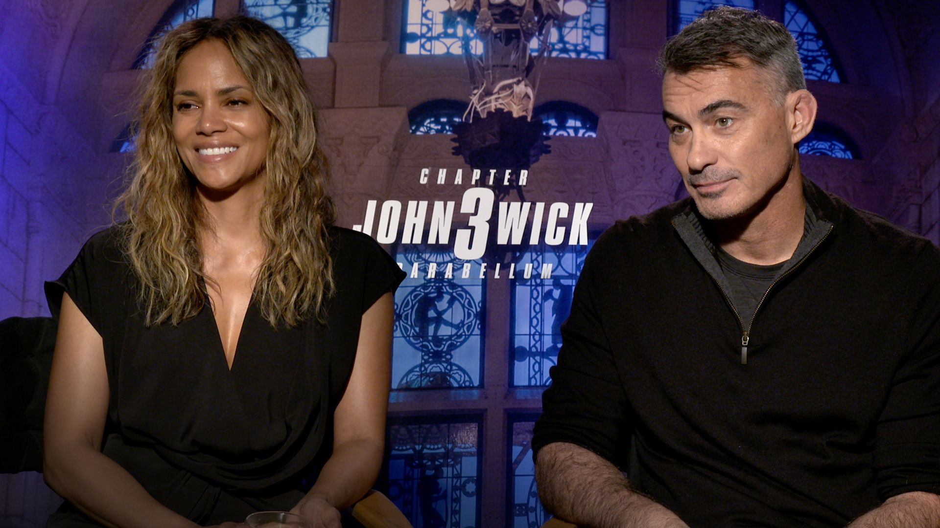 'John Wick 3': Halle Berry and Director Chad Stahelski on the Film's Very Good Attack Dogs