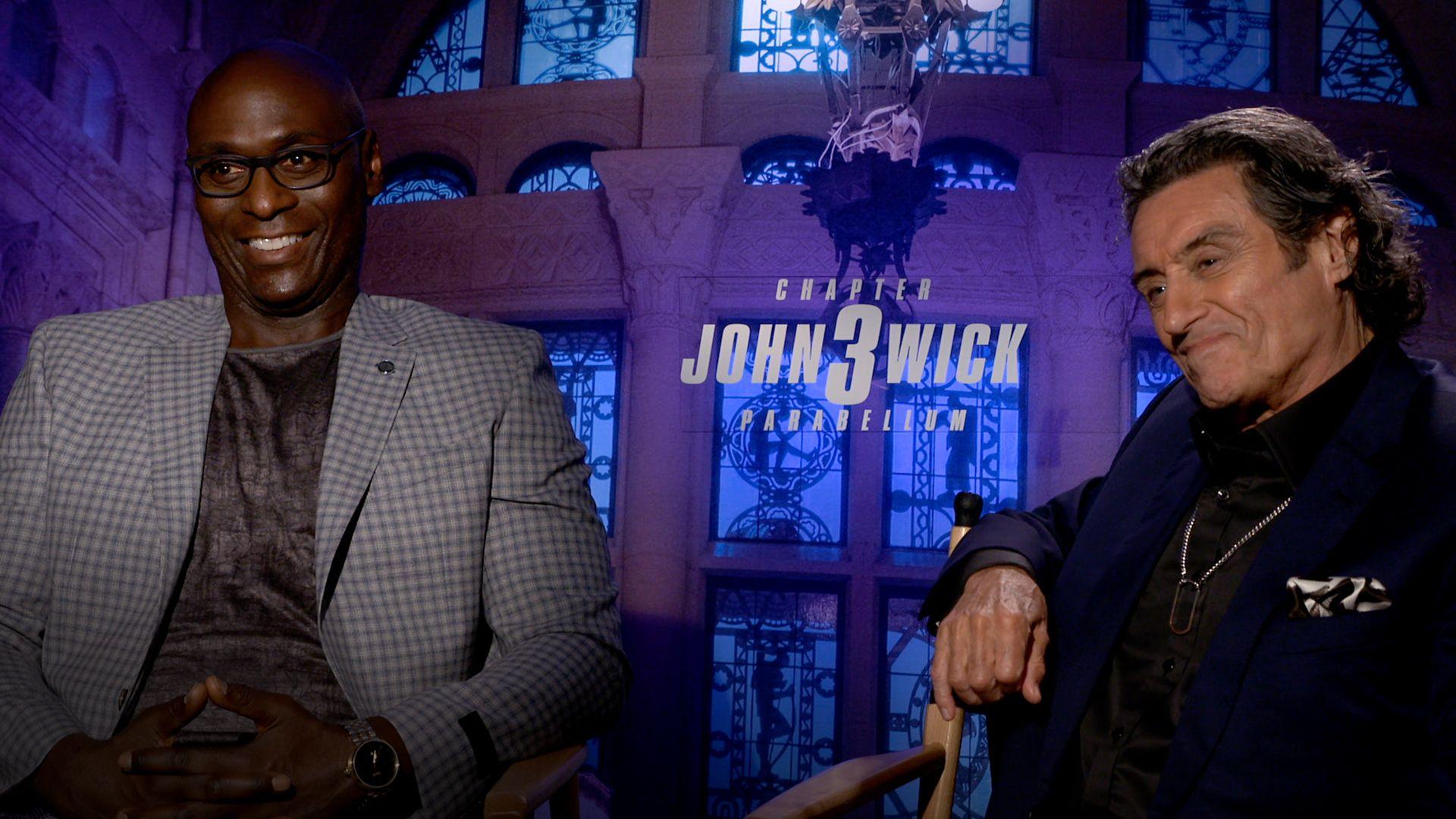 John Wick 3: Ian McShane & Lance Reddick on the Continental Hotel