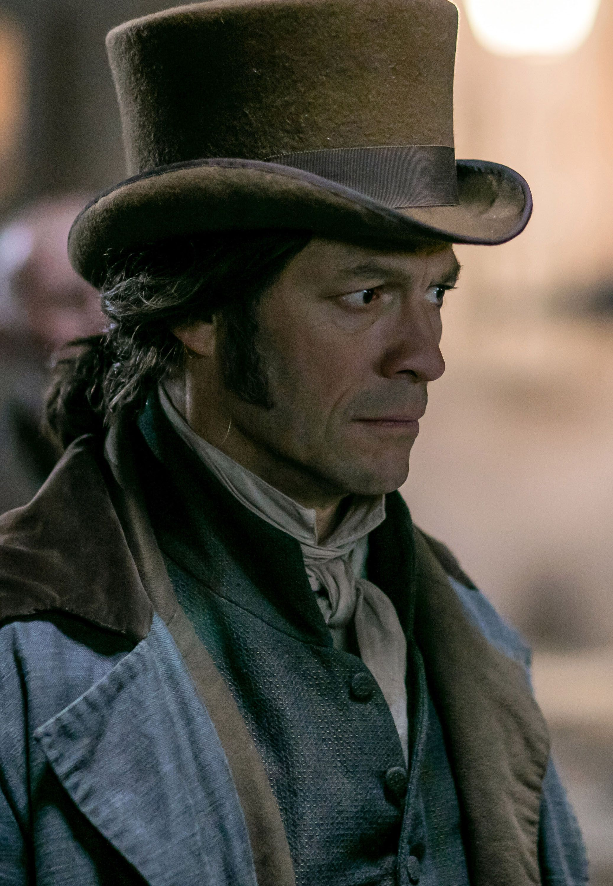 Dominic West on Les Miserables and Playing Jean Valjean