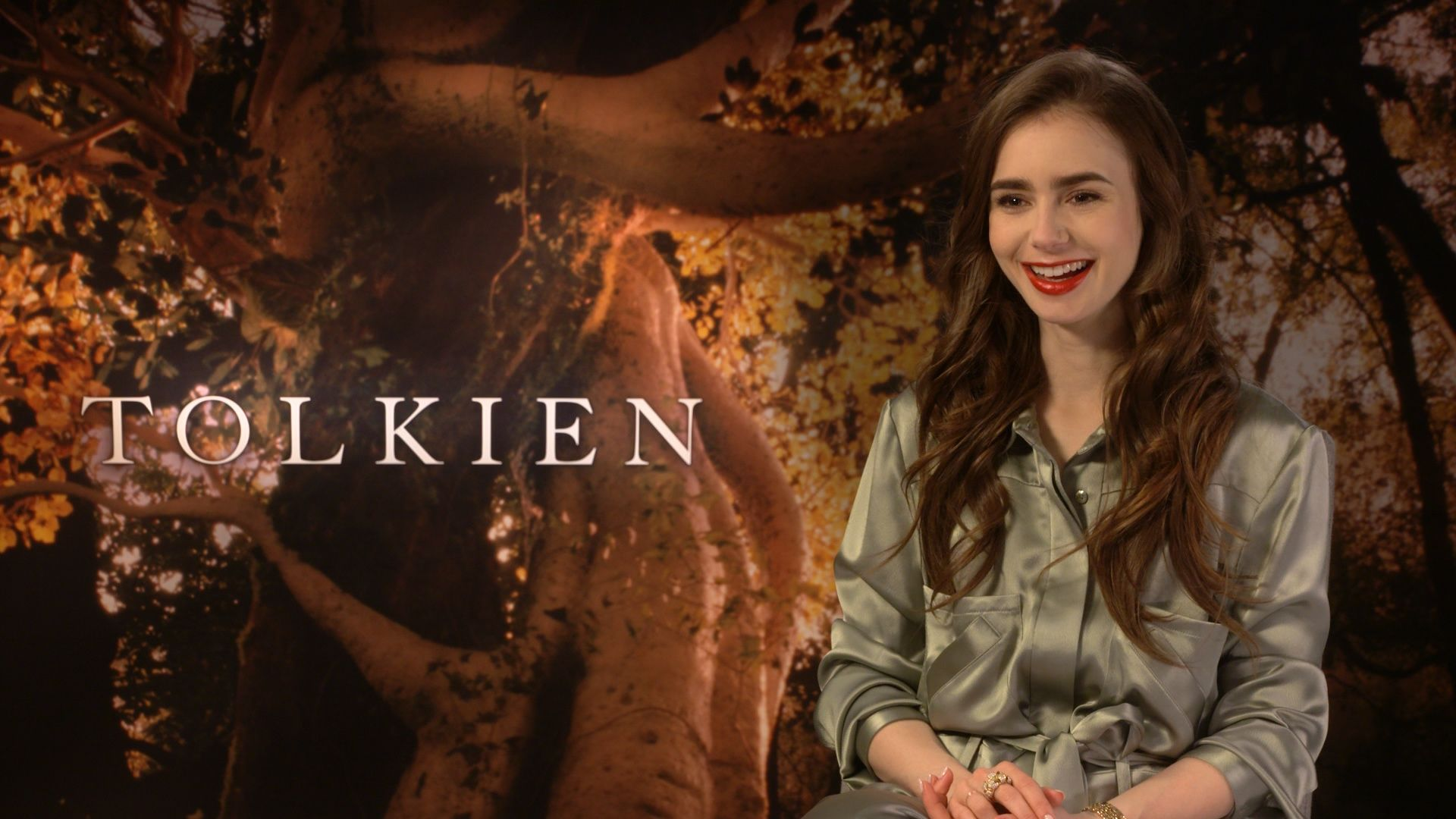 Movie Poster 2019: Lily Collins On Tolkien And Having Fun With Accents And