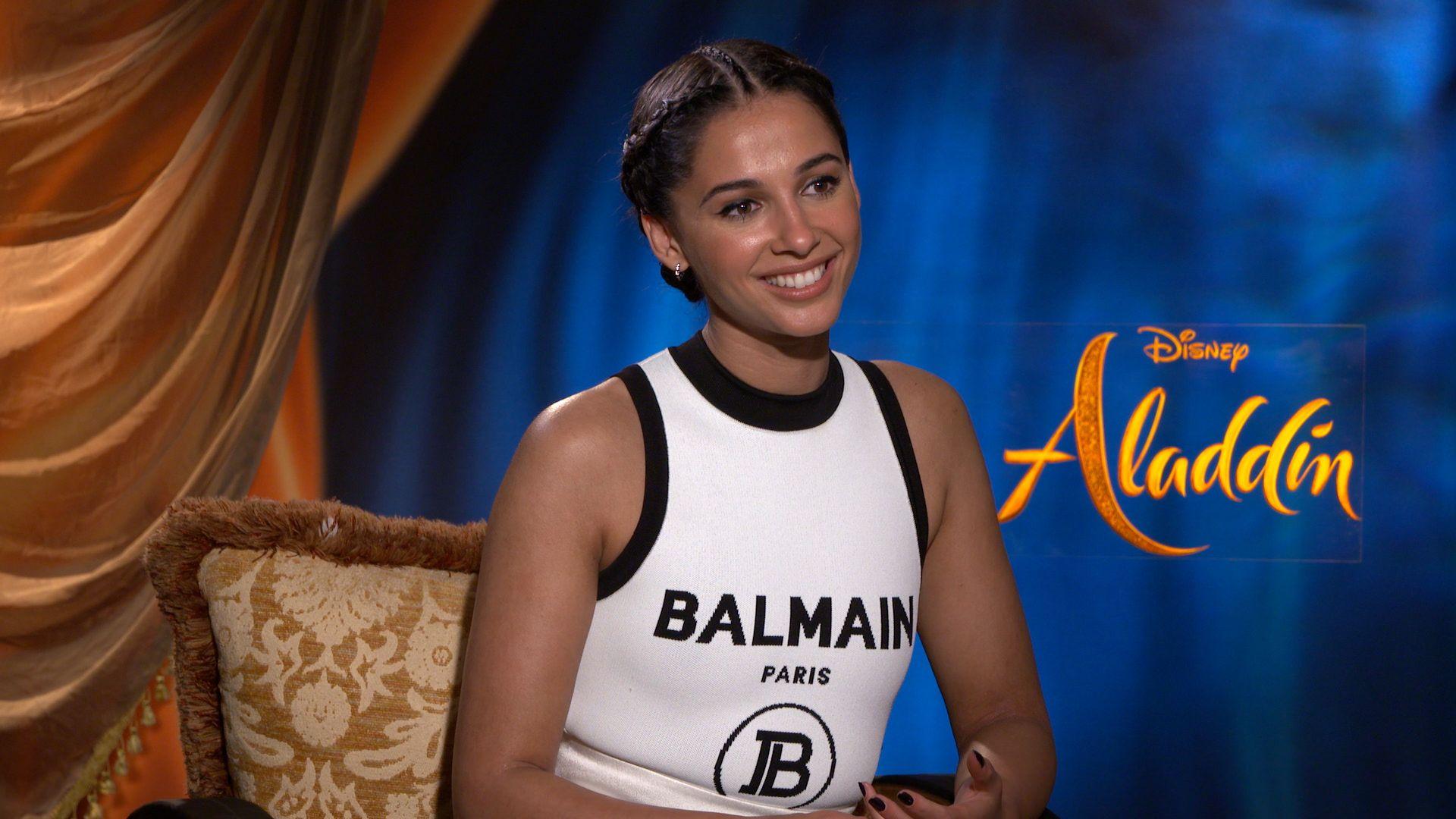 Aladdin Star Naomi Scott On Playing Jasmine And Training