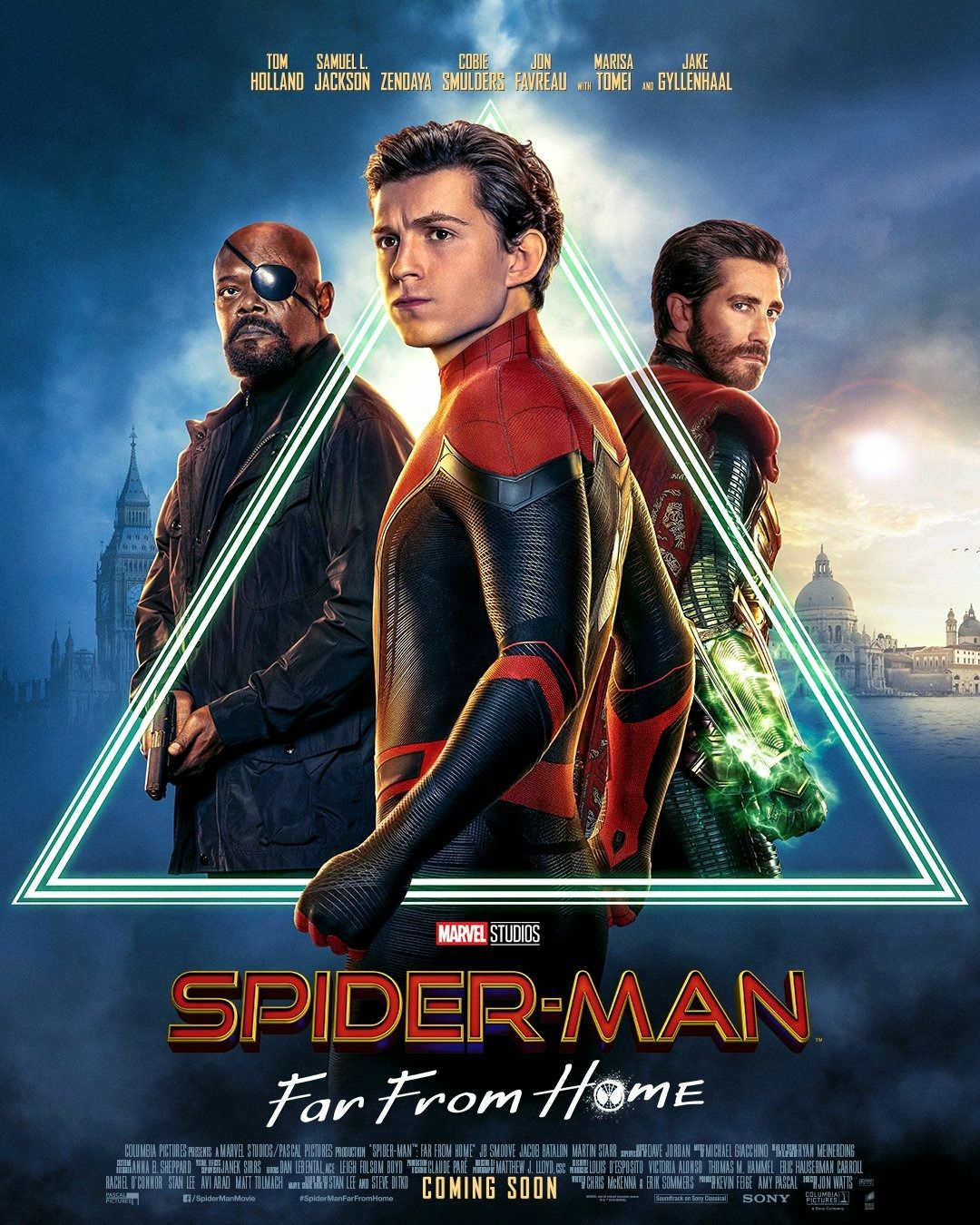 Spider-Man: Far From Home Posters Look off into the Distance ...