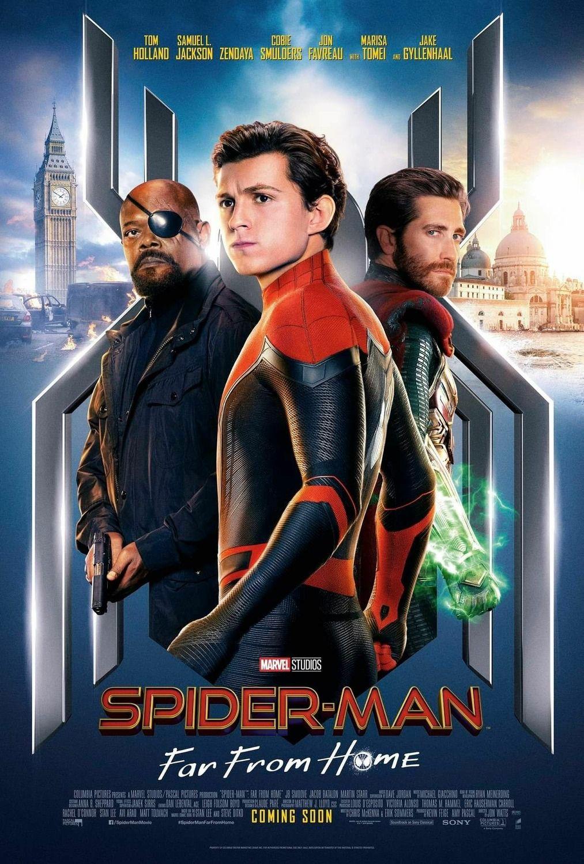 ผลการค้นหารูปภาพสำหรับ SPIDER-MAN: FAR FROM HOME poster