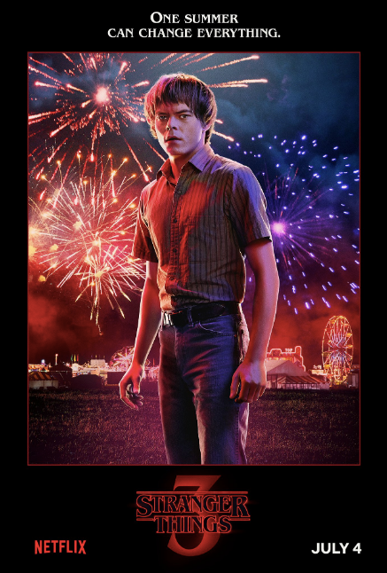Stranger Things 3 Character Posters Promise Frights