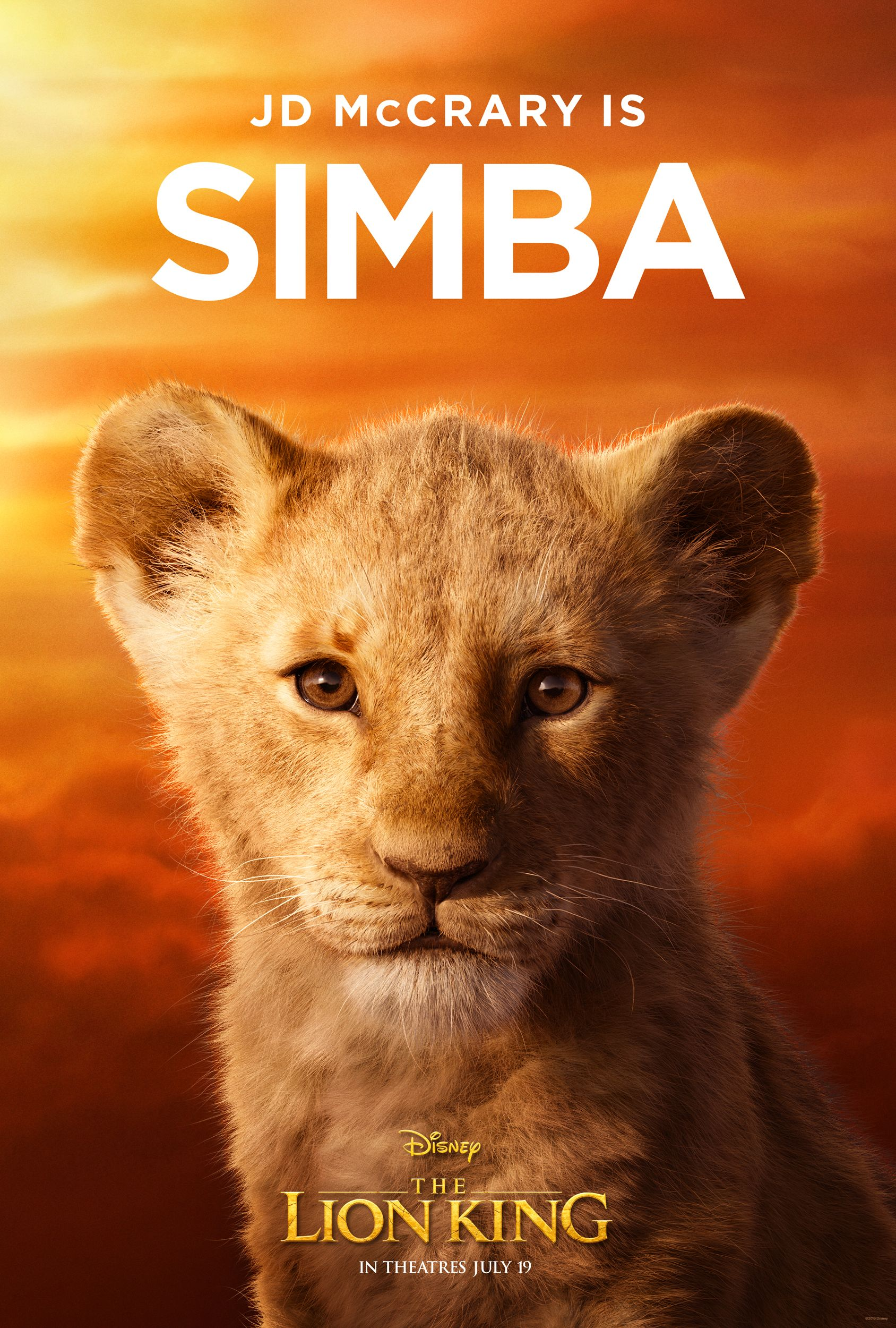 the lion king character posters reveal the full cast