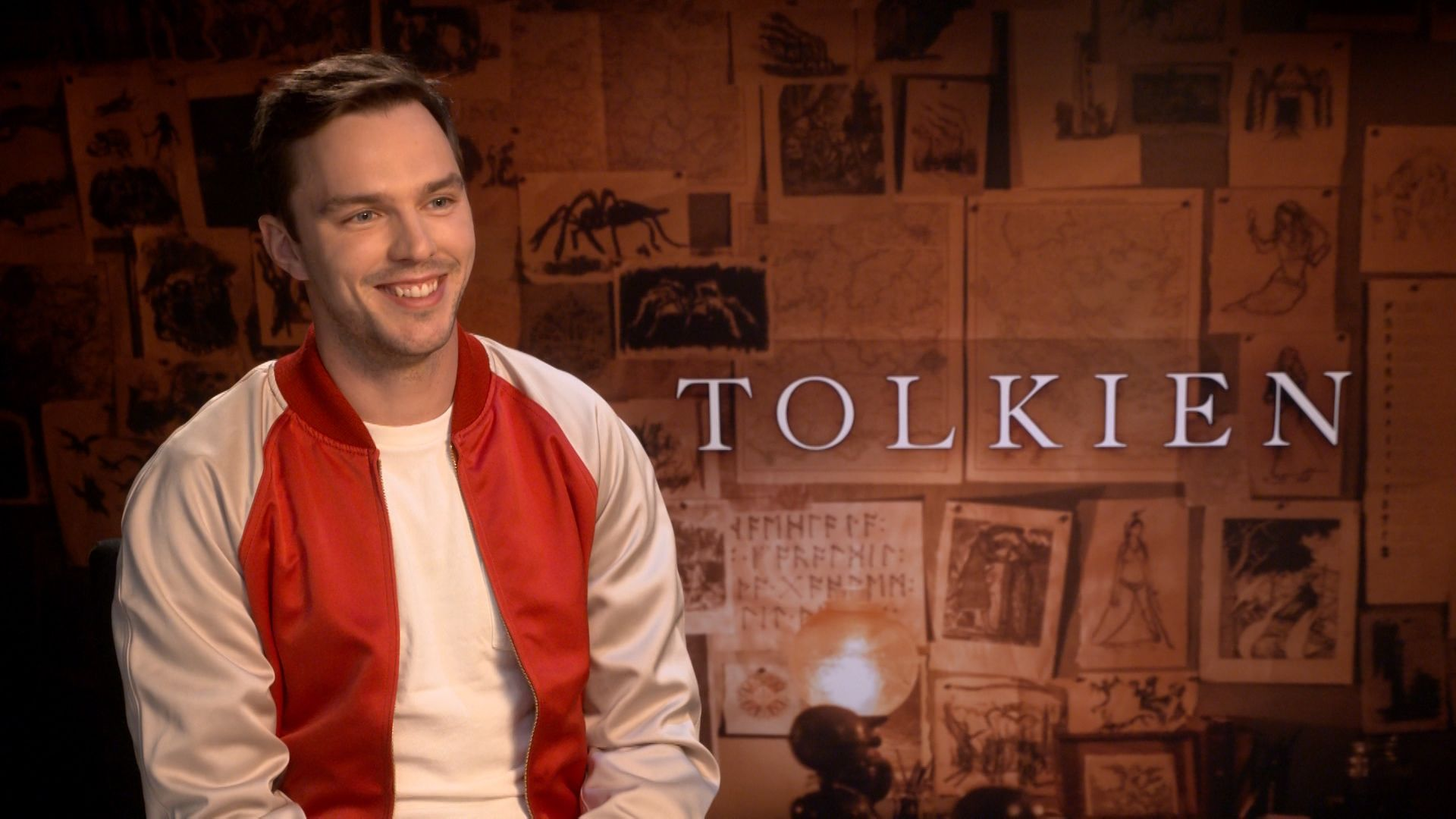 Movie Poster 2019: Nicholas Hoult On Tolkien And Playing The Author Across