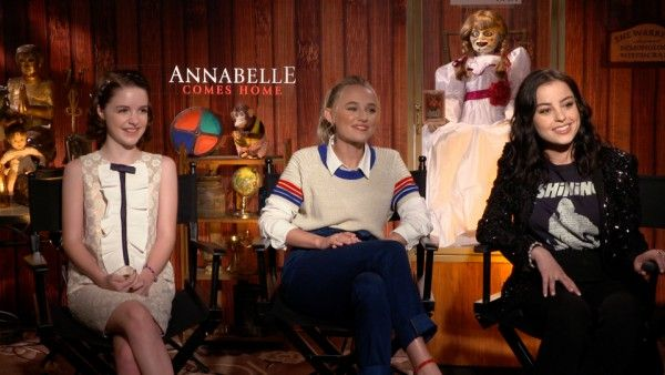 Annabelle Comes Home Cast on Why It's Hard to Play Scared