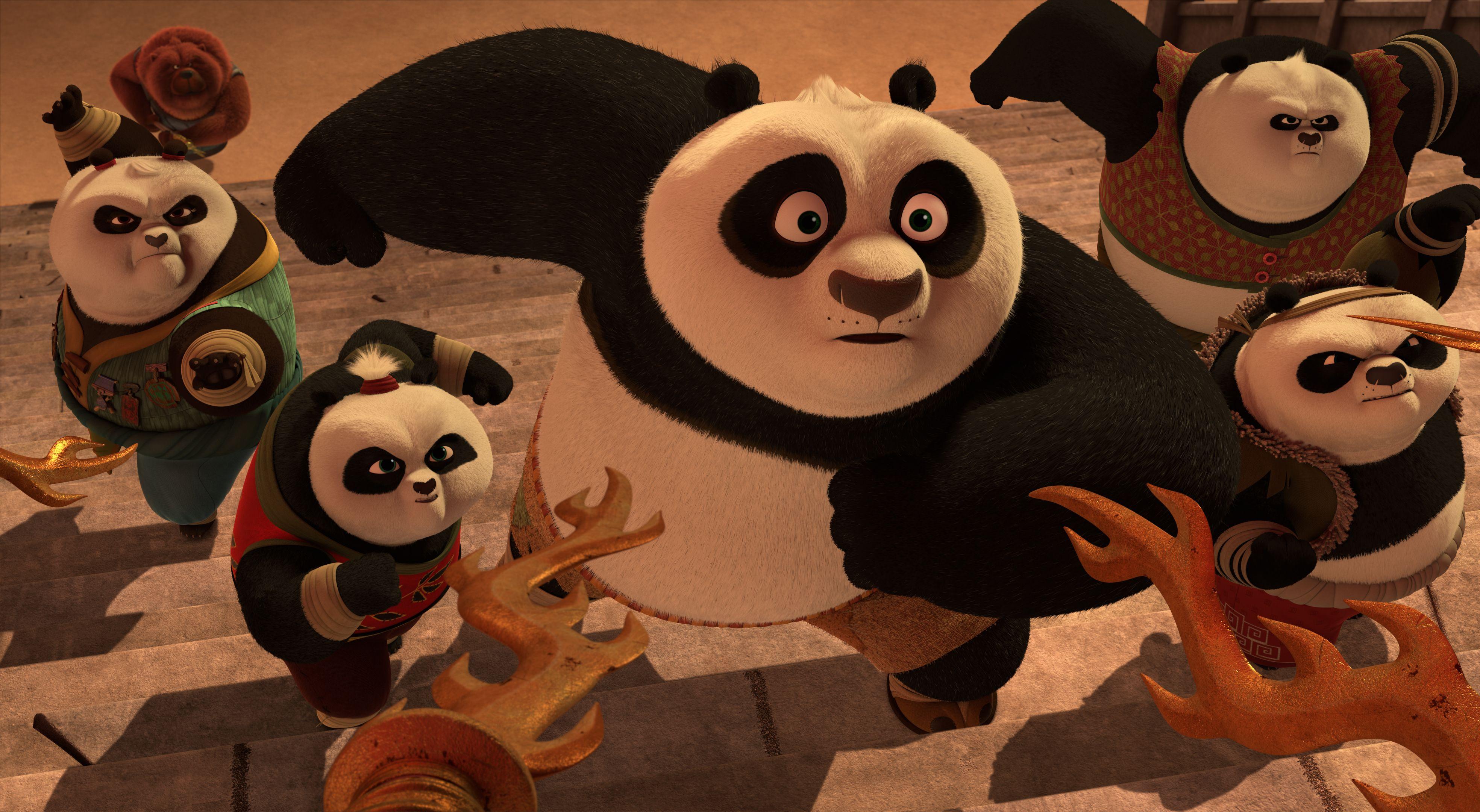 Kung Fu Panda Season 2 Trailer Images Reveal Po S New Adventures Collider