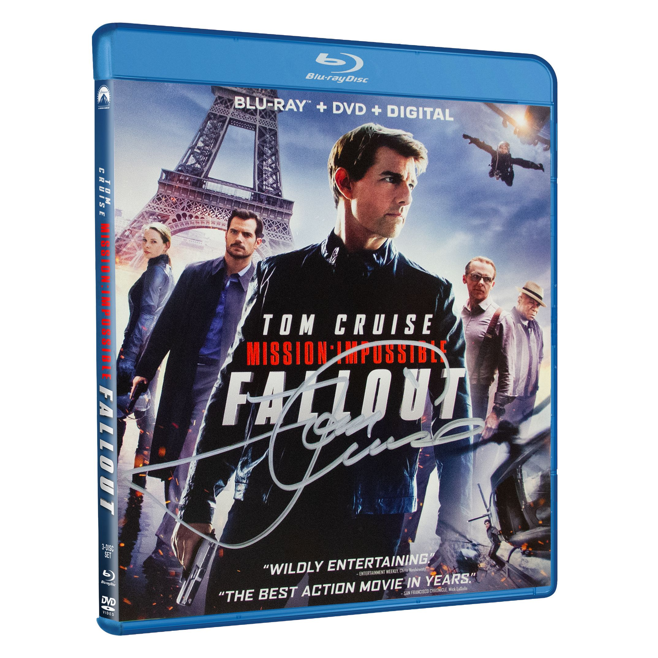 Enter to Win a Mission: Impossible – Fallout Blu-ray Signed