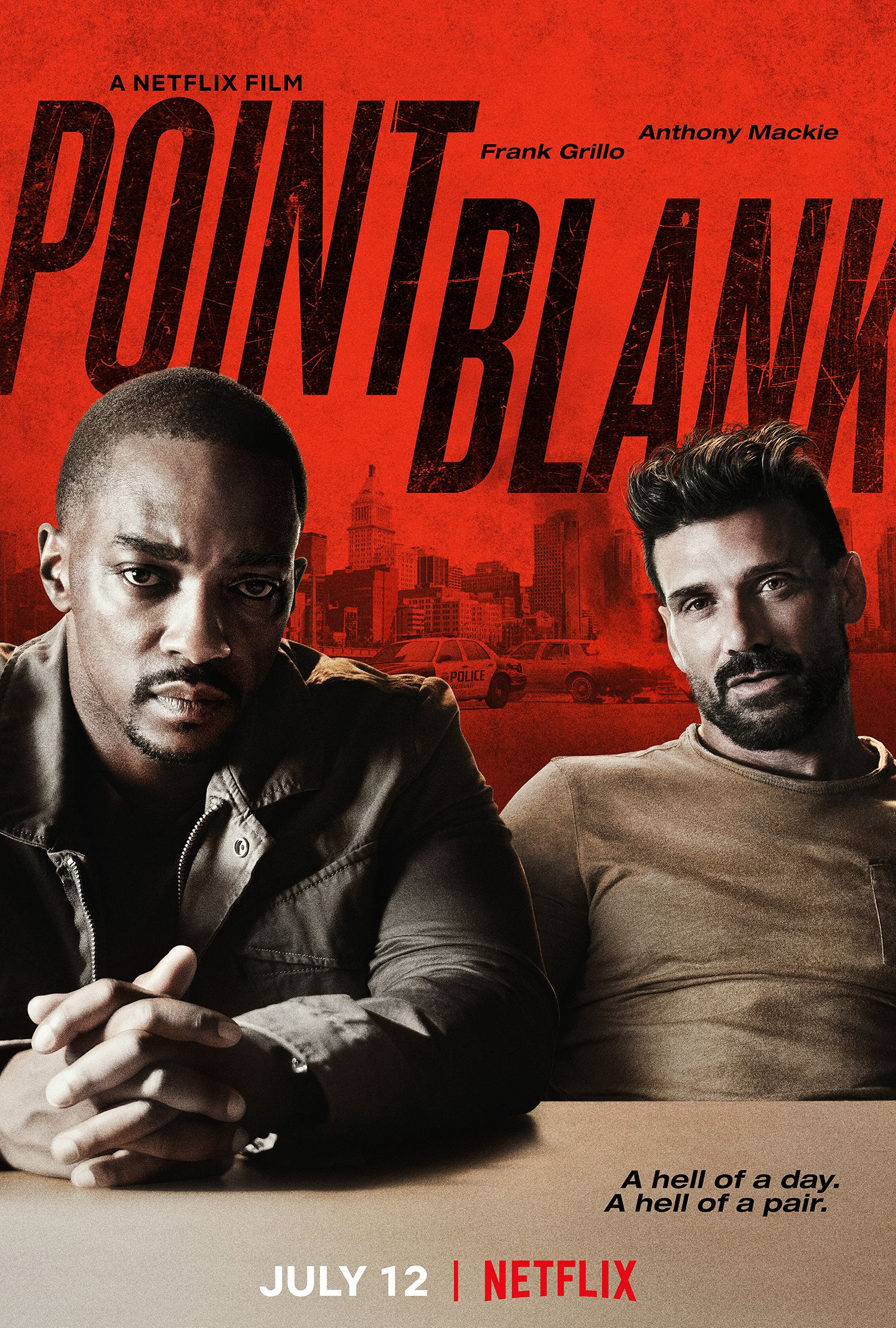Point Blank Trailer: Netflix Action Film Teams up Mackie and