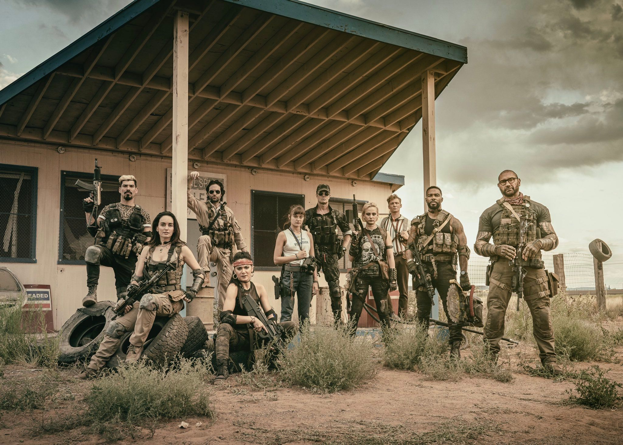 Army of the Dead Cast Image Reveals Zack Snyder s Netflix