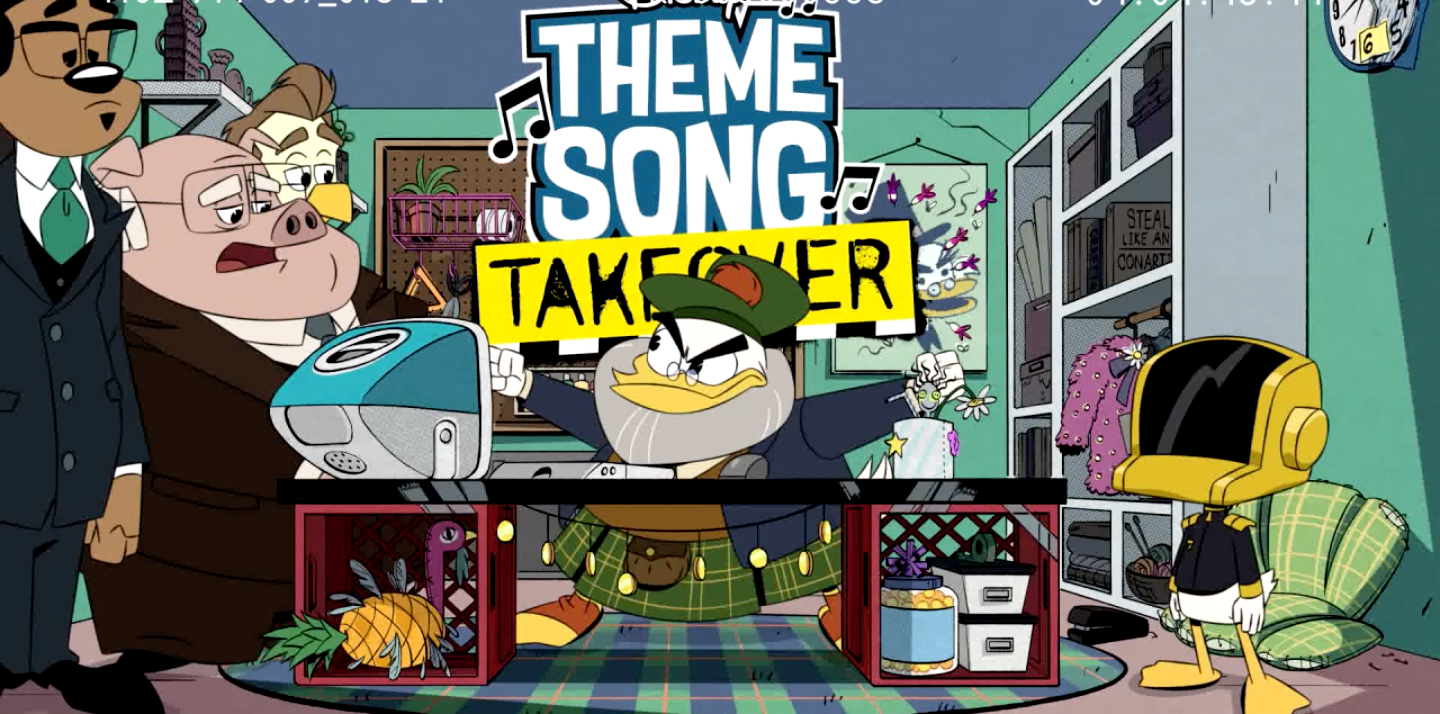 DuckTales Theme Song Gets Taken Over by Glomgold in a New