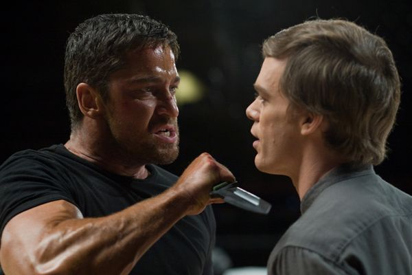 Gamer movie image Gerard Butler and Michael C. Hall