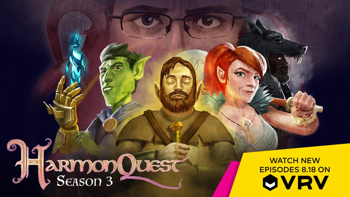 HarmonQuest Season 3 Trailer Reveals the VRV Series' Release Date