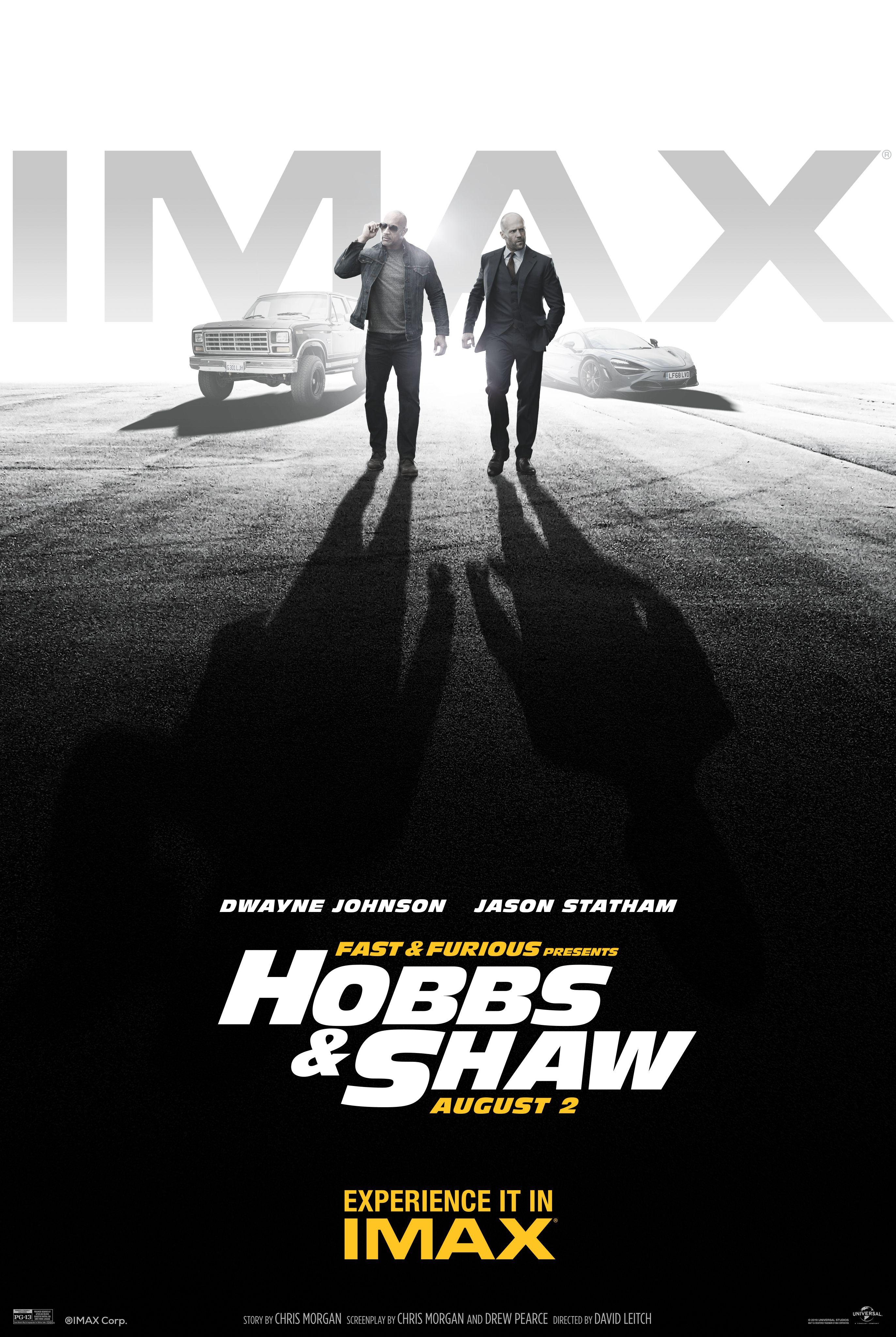 Hobbs Shaw Win Tickets To Early Imax Screening And Qa