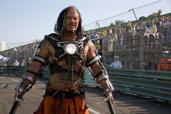 Iron Man 2 movie image Mickey Rourke as Whiplash