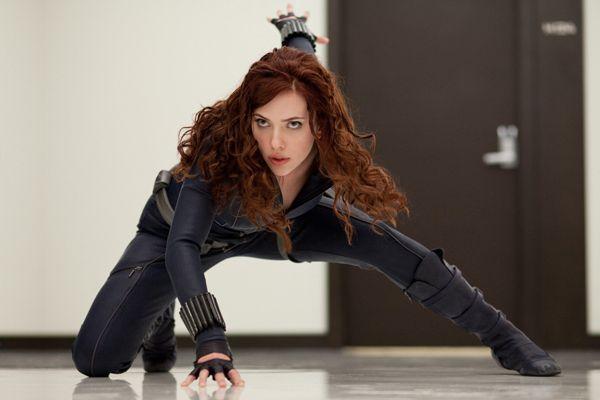 Iron Man 2 movie image Scarlett Johansson