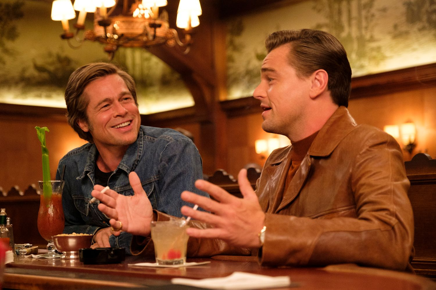 once upon a time in hollywood leonardo dicaprio brad pitt.'