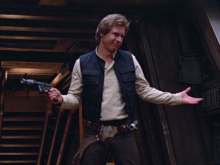 Was Han Solo A Force Ghost In Rise Of Skywalker Don T Ask Harrison Ford Collider