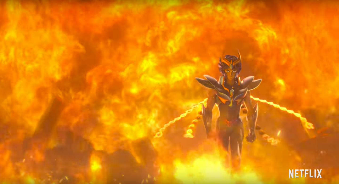 Saint Seiya Netflix Series Trailer Reveals New Look for the