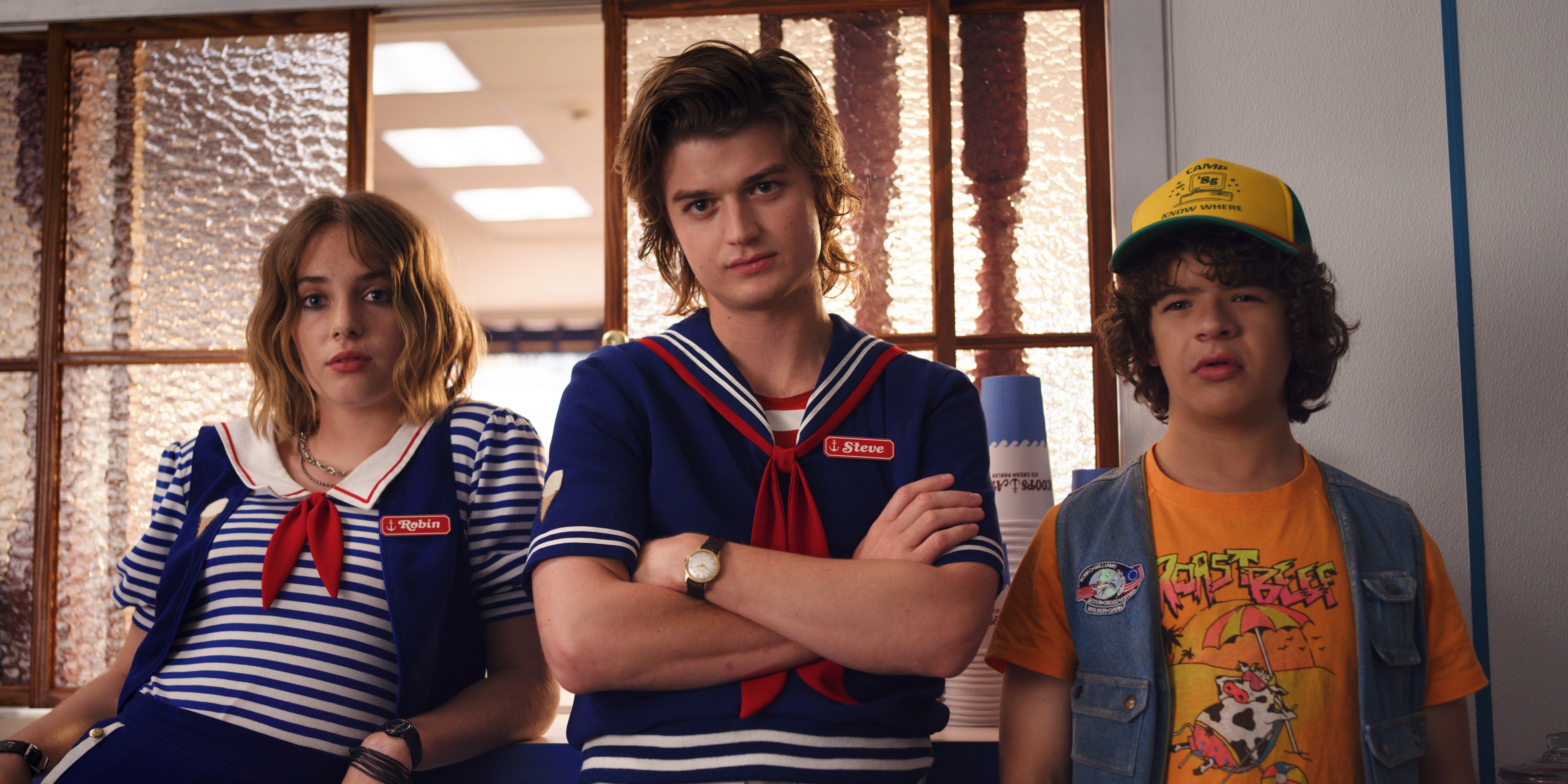 Let/'s Get Strange Netflix Stranger Things Inspired Funny T-Shirt