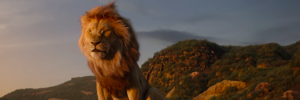 The Lion King Remake Mufasa Falling Off The Cliff Is Funny