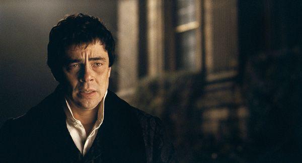 The Wolfman movie Benicio Del Toro