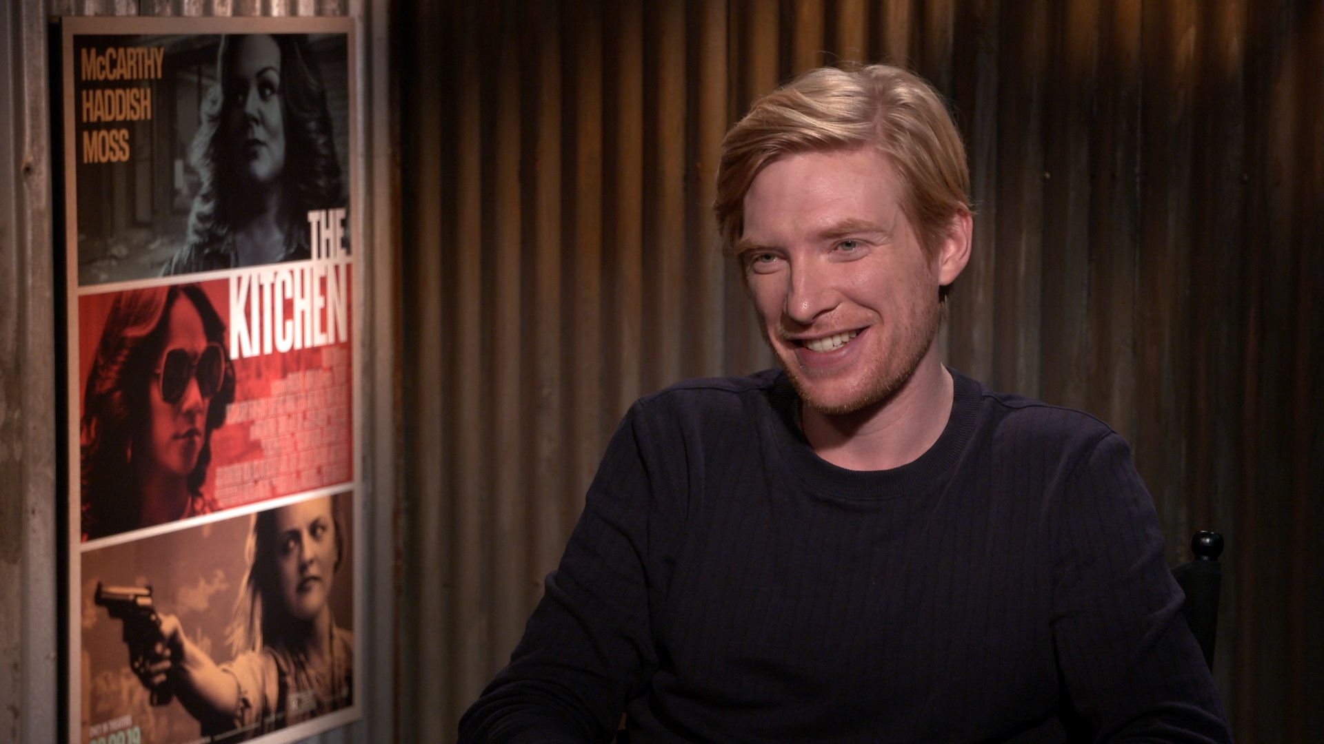 Domhnall Gleeson On The Kitchen Amp Reading The Star Wars 9
