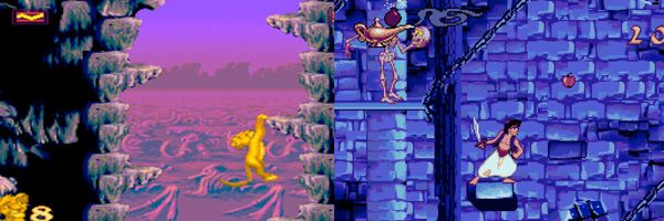 The Lion King and Aladdin 16-Bit Video Games Are Getting Re