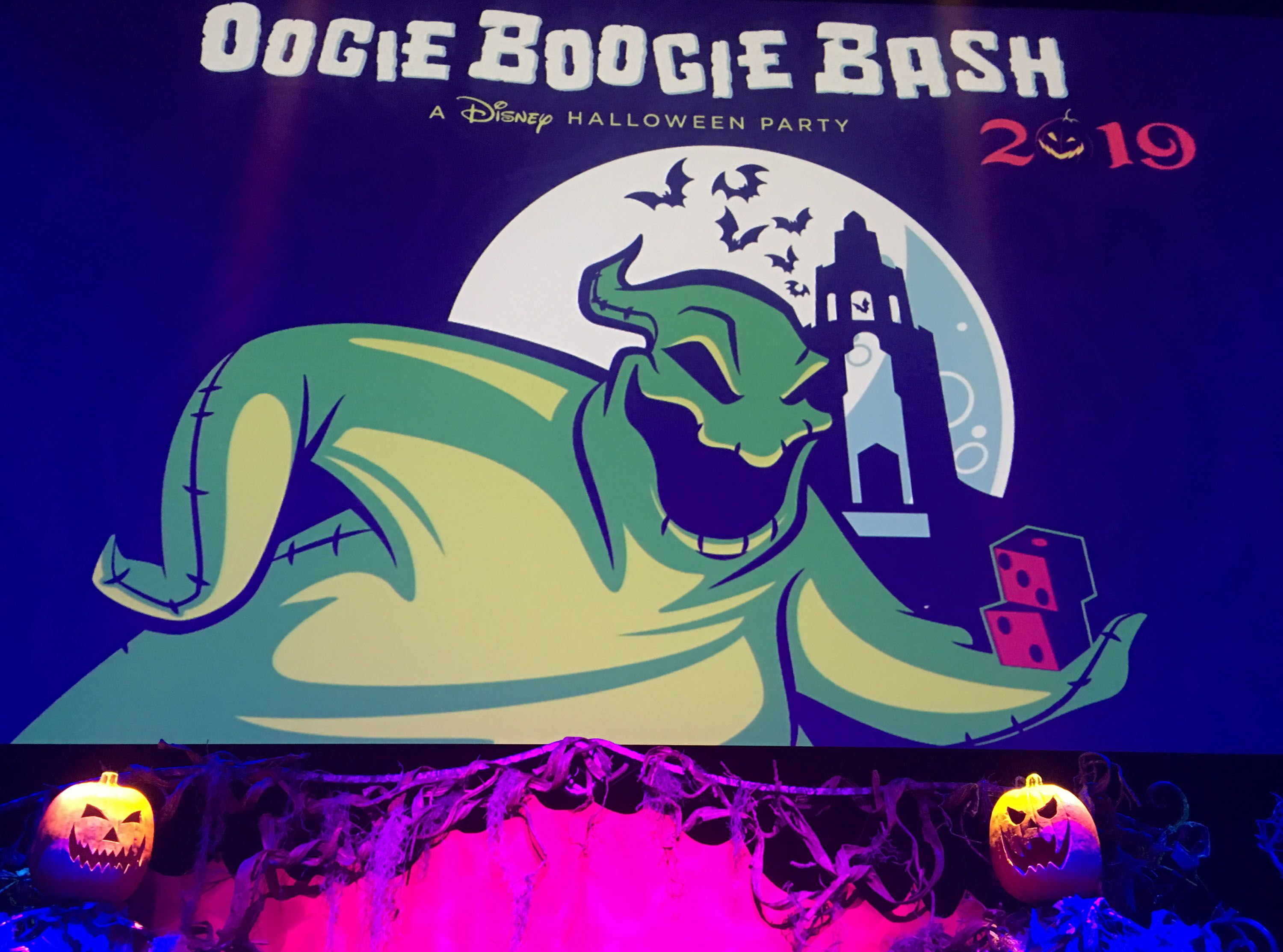 Oogie Boogie Halloween Party.Oogie Boogie Bash A Disney Halloween Party Images Show Off