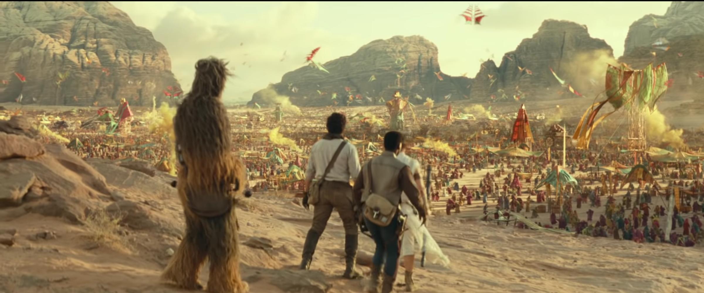 Star Wars 9 Footage Breakdown Dark Rey Leia And More Collider