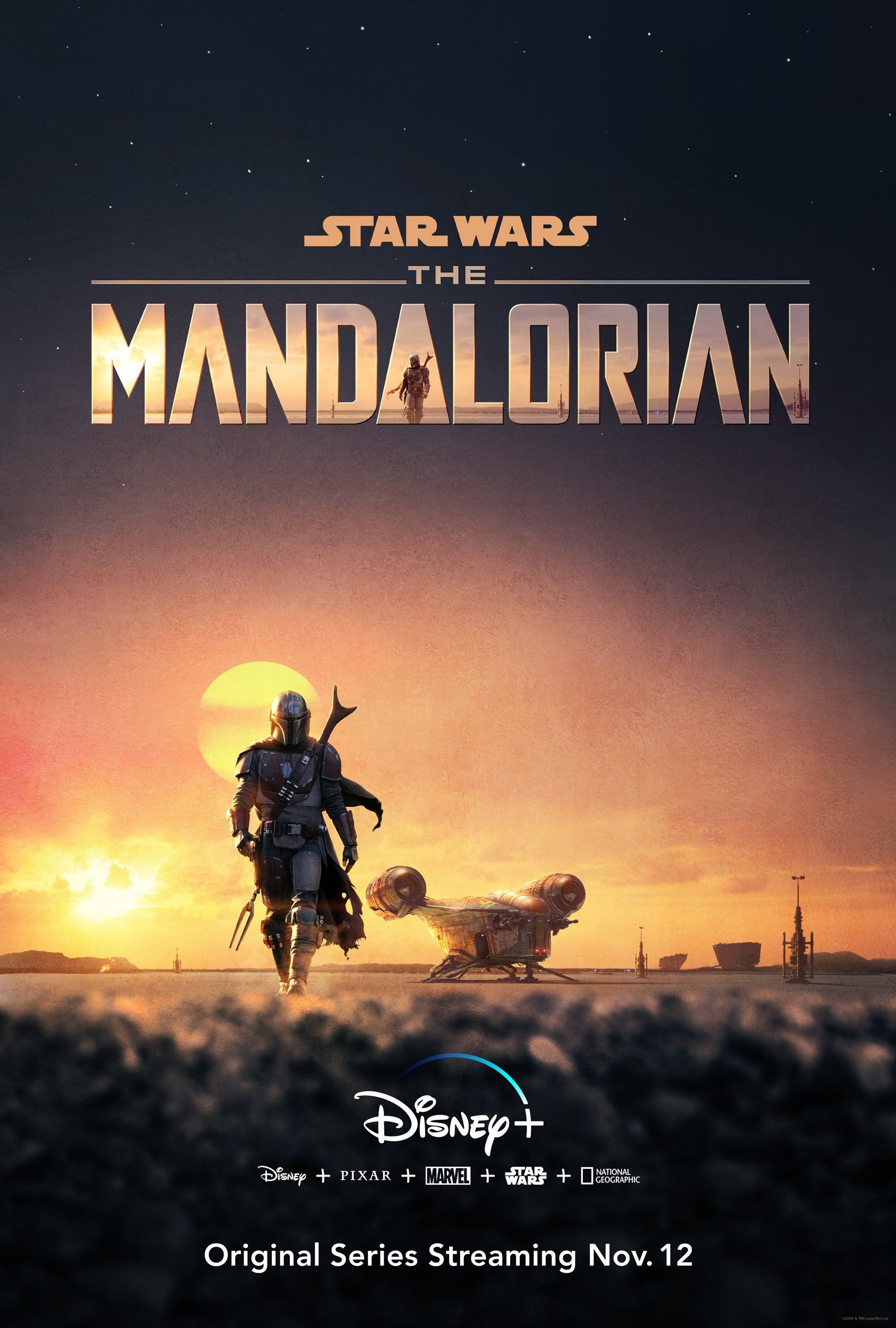 Image result for poster the mandalorian
