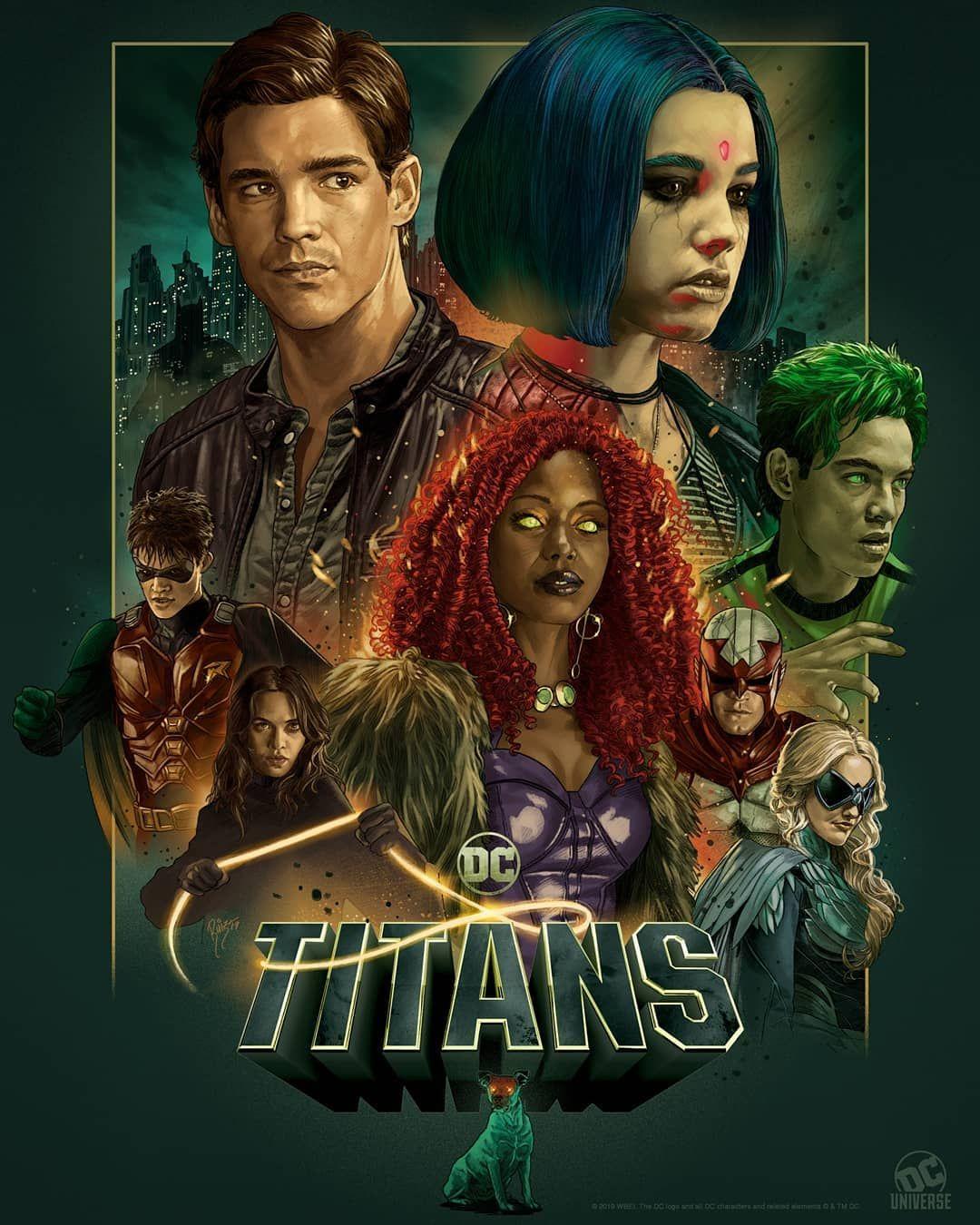 Titans season 2 netflix