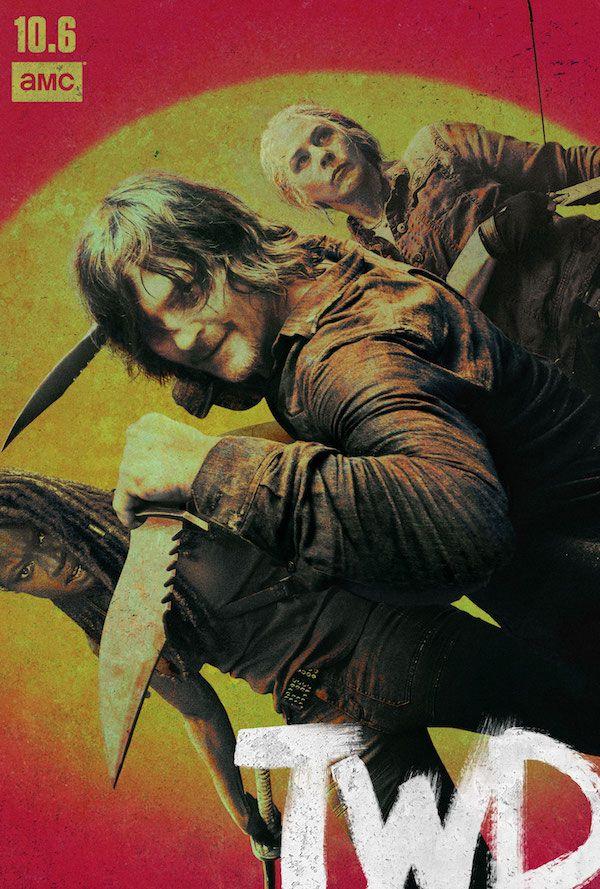 The Walking Dead Season 10 Poster Highlights Daryl, Michonne