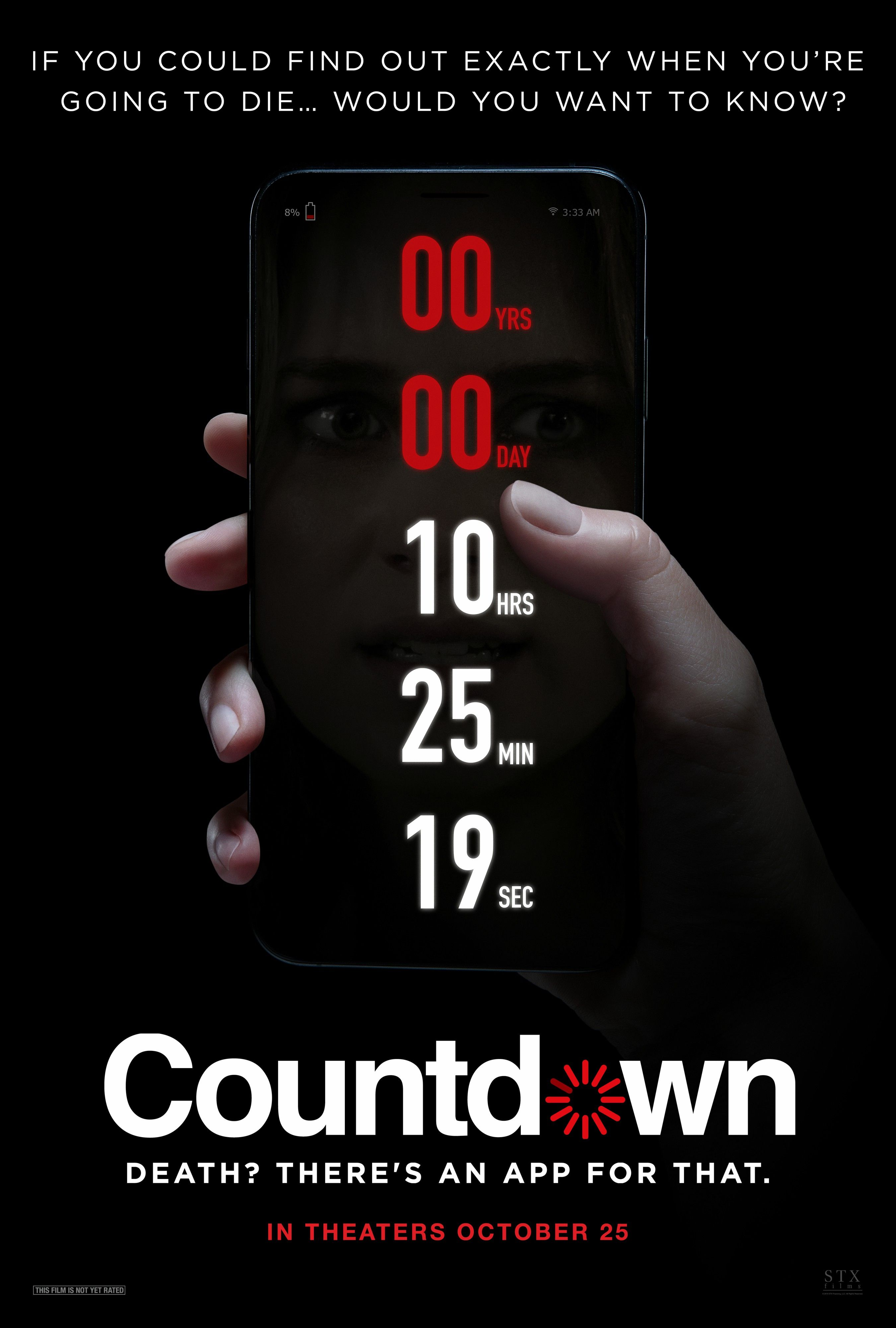 Film Countdown: Countdown Poster & Images Reveal An App That Knows When
