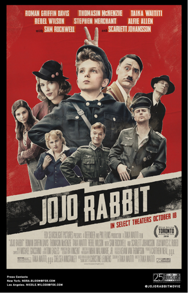 jojo-rabbit-cast-poster