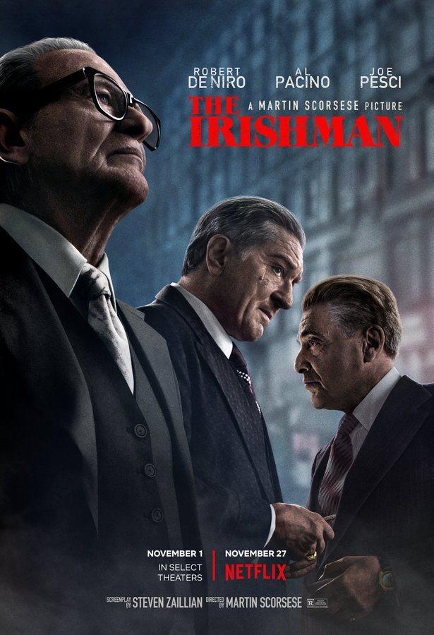 Image result for the irishman hd poster