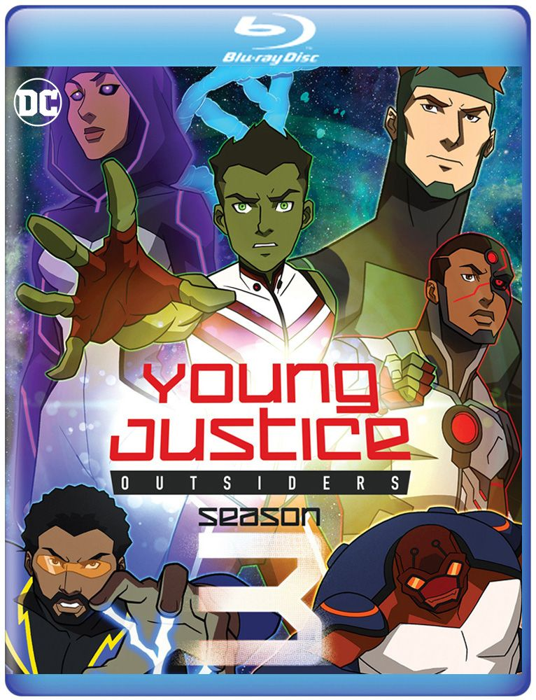 Young Justice Outsiders Season 3 Digital Blu Ray Release Date Details Collider
