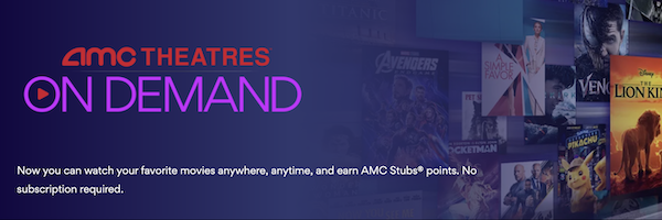 Amc Theatres Streaming Service Coming For Stubs Members