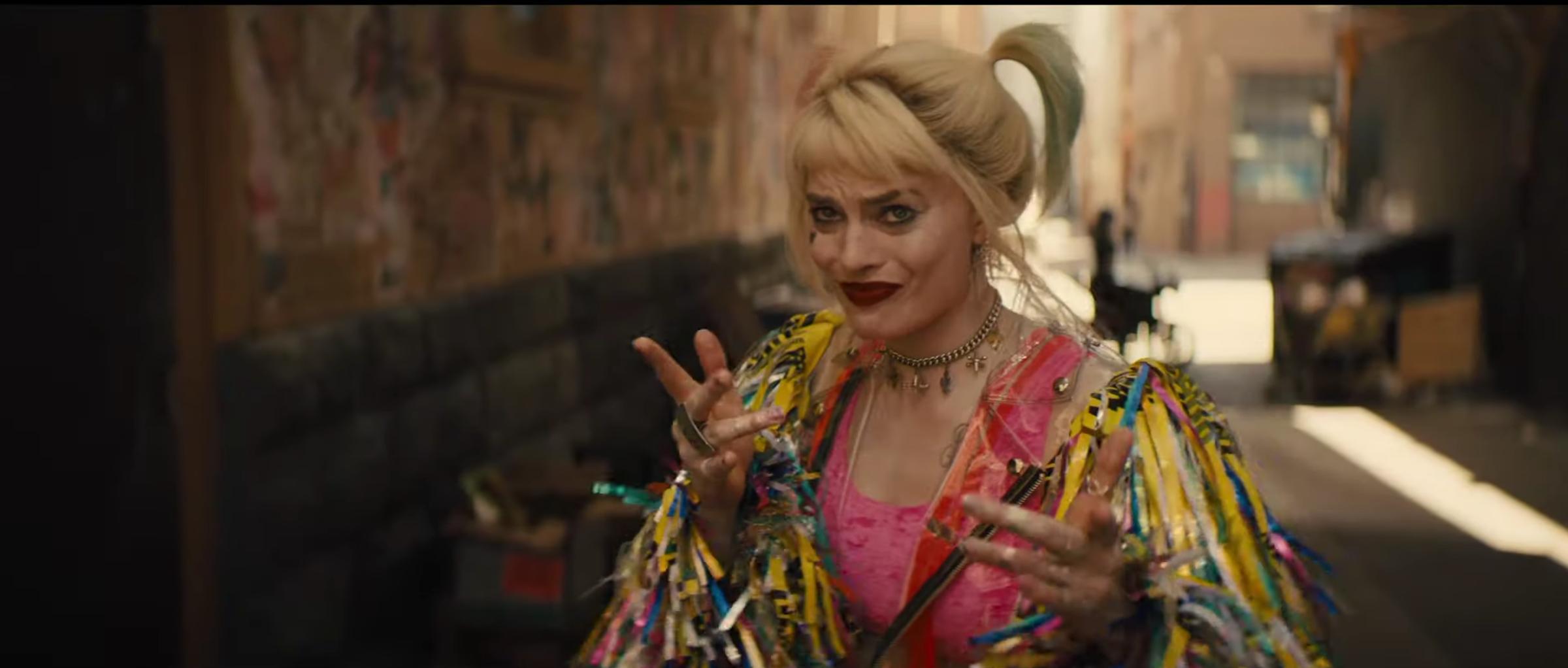 Birds Of Prey Harley Quinn S Costume Designer On Her New Look Collider
