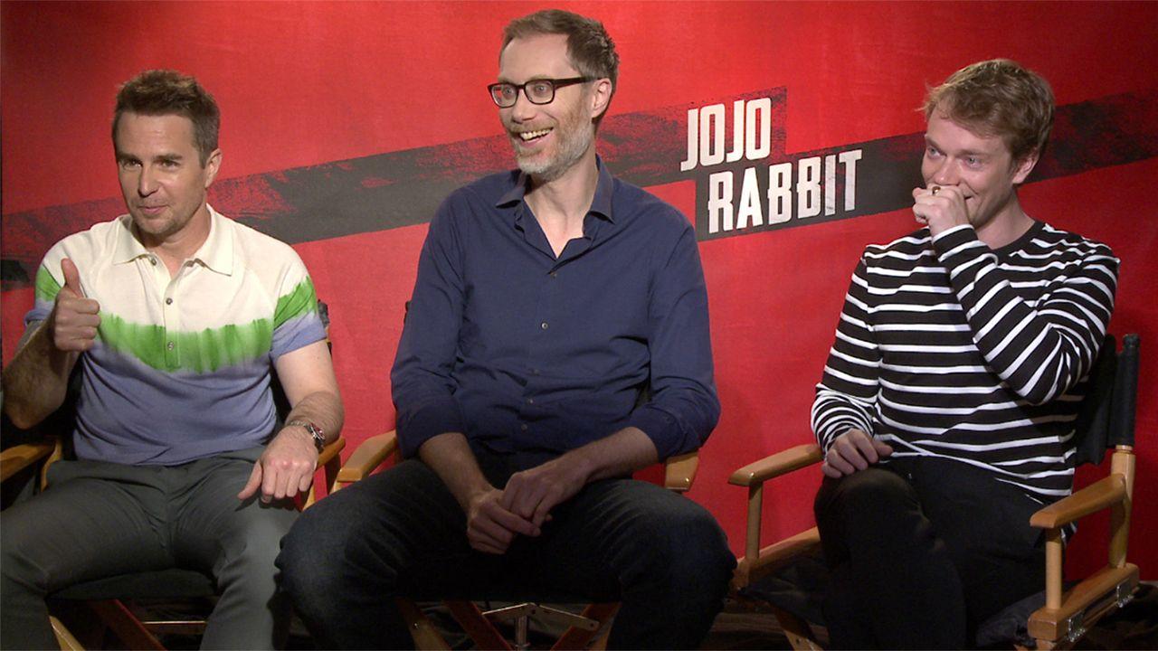 Sam Rockwell Jojo Rabbit >> Jojo Rabbit Here S Why Stephen Merchant Wanted To Ruin Sam
