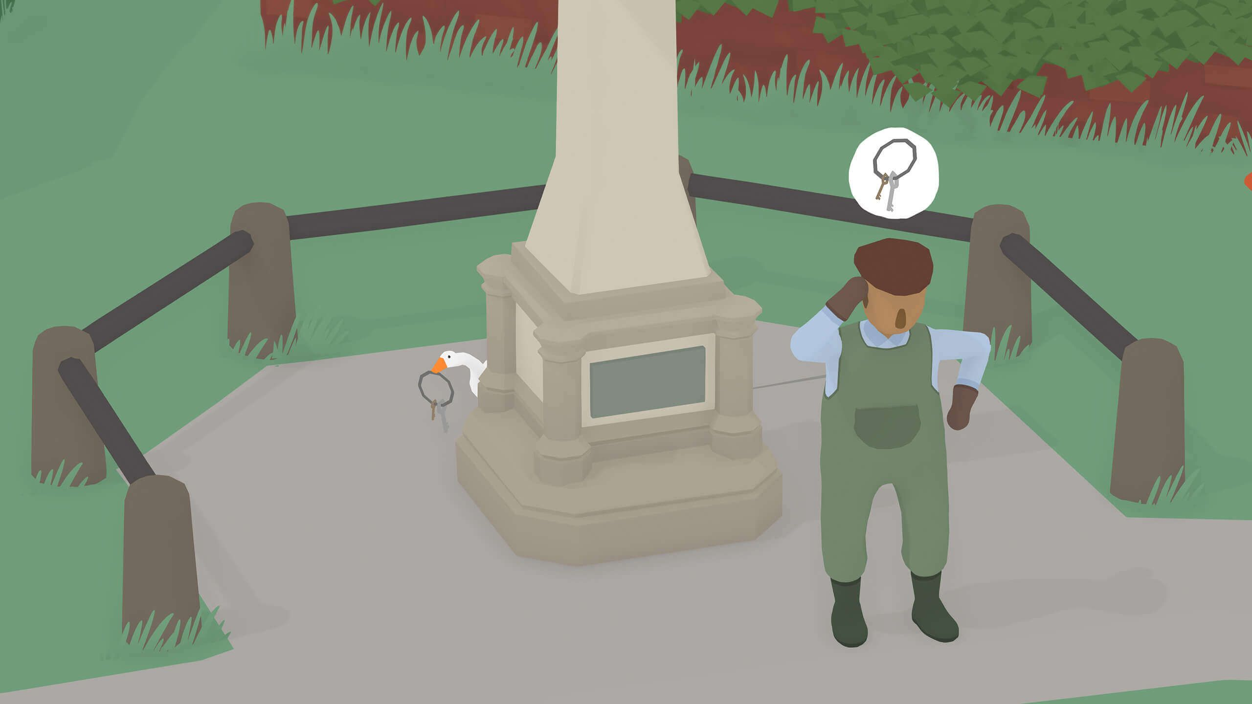 Untitled Goose Game Review: The Chaos We Need Right Now